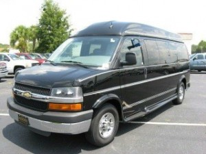 2014 9 passenger conversion van